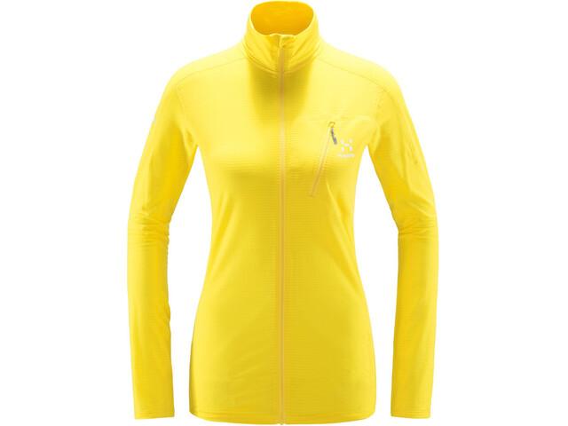 Haglöfs L.I.M Mid Jas Dames, signal yellow